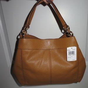 b4b5a69057 Coach Bags - Coach Small Lexy F28992 Light Saddle Leather Bag